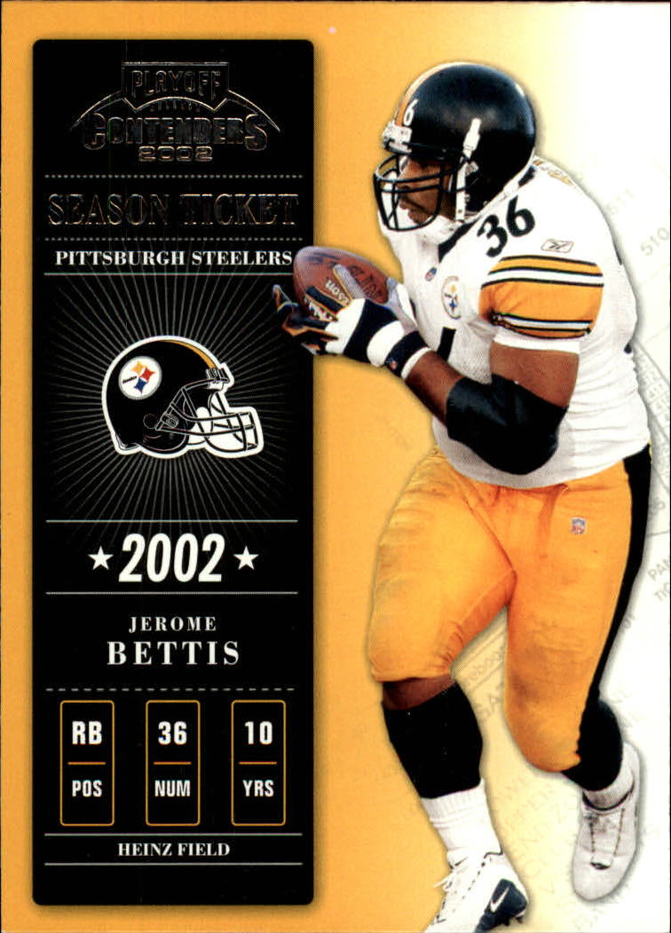 2002 Playoff Contenders #24 Jerome Bettis