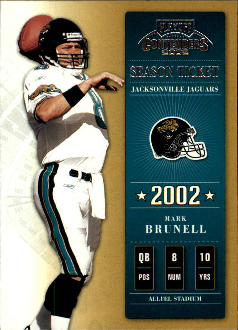 2002 Playoff Contenders #27 Mark Brunell