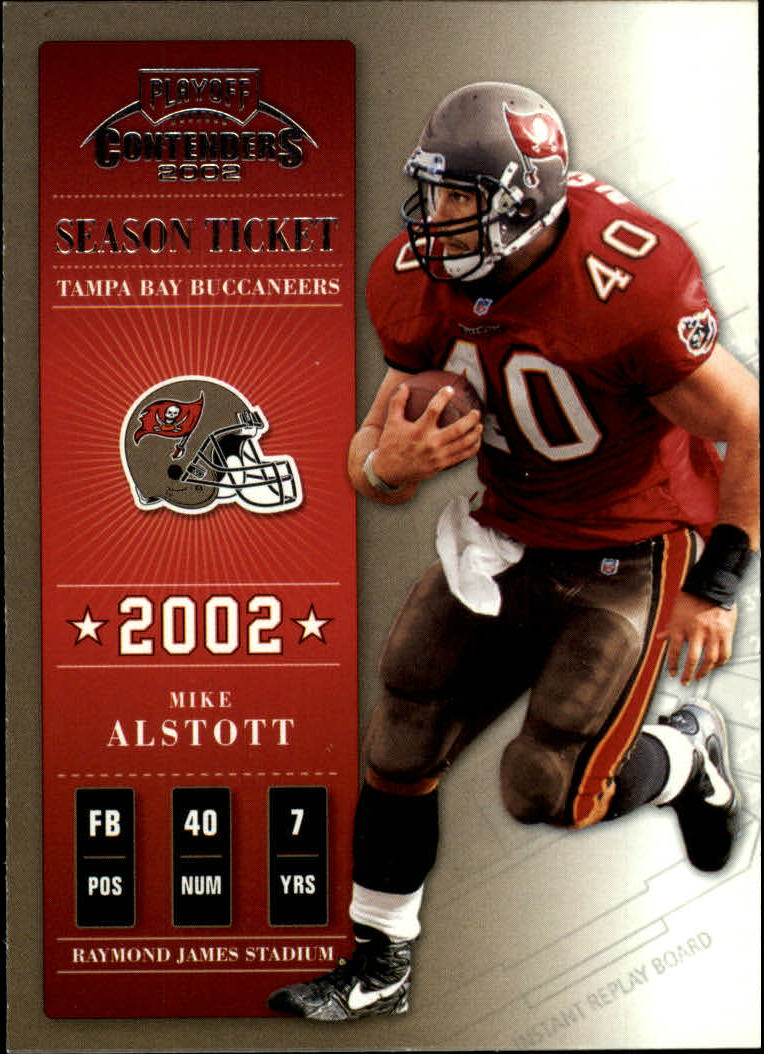 2002 Playoff Contenders #86 Mike Alstott
