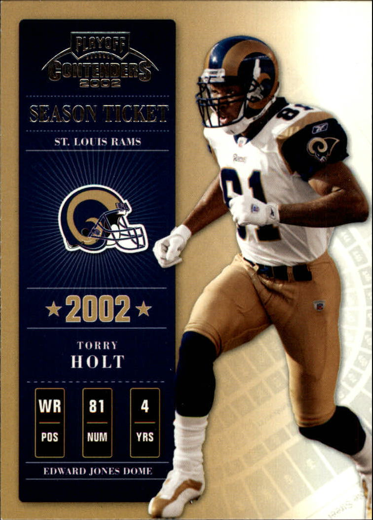 2002 Playoff Contenders #94 Torry Holt