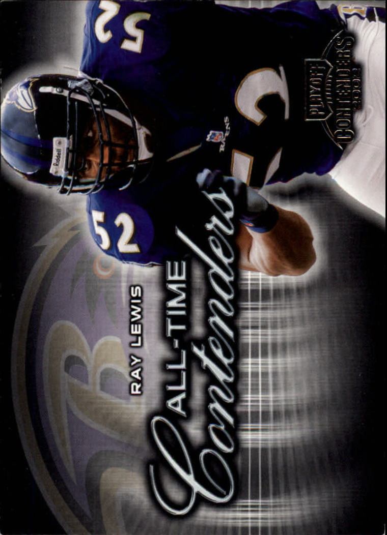 2002 Playoff Contenders All-Time Contenders #AT2 Ray Lewis