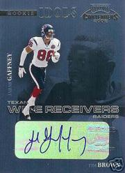 2002 Playoff Contenders Rookie Idols Autographs #RI9 Jabar Gaffney/Tim Brown