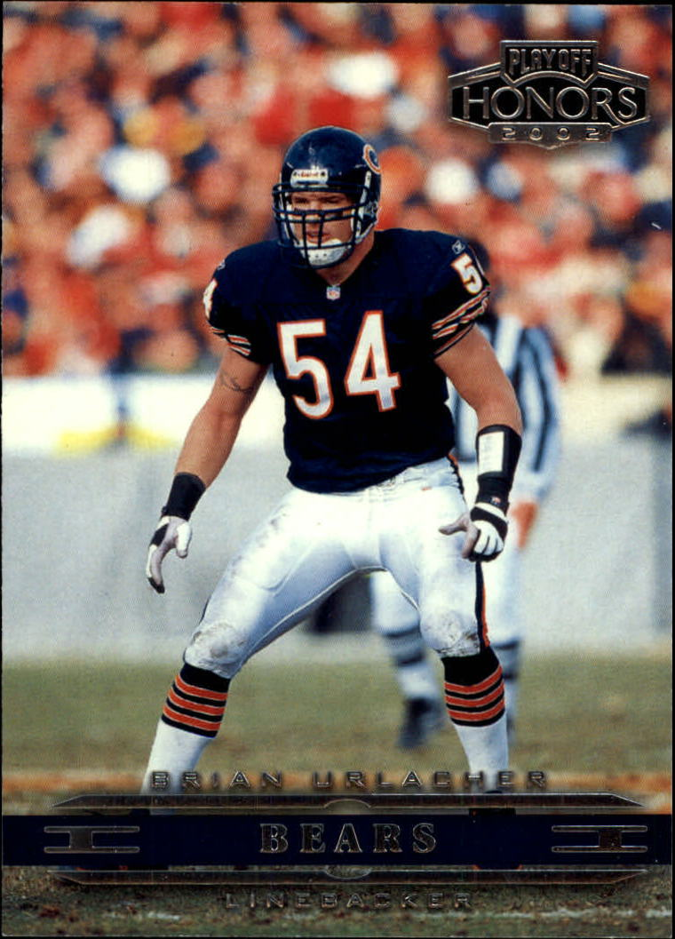 2002 Playoff Honors #17 Brian Urlacher