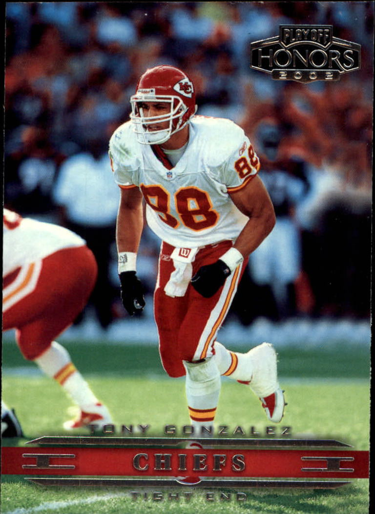 2002 Playoff Honors #44 Tony Gonzalez