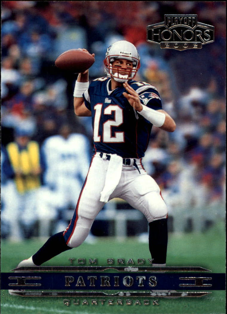 2002 Playoff Honors #55 Tom Brady