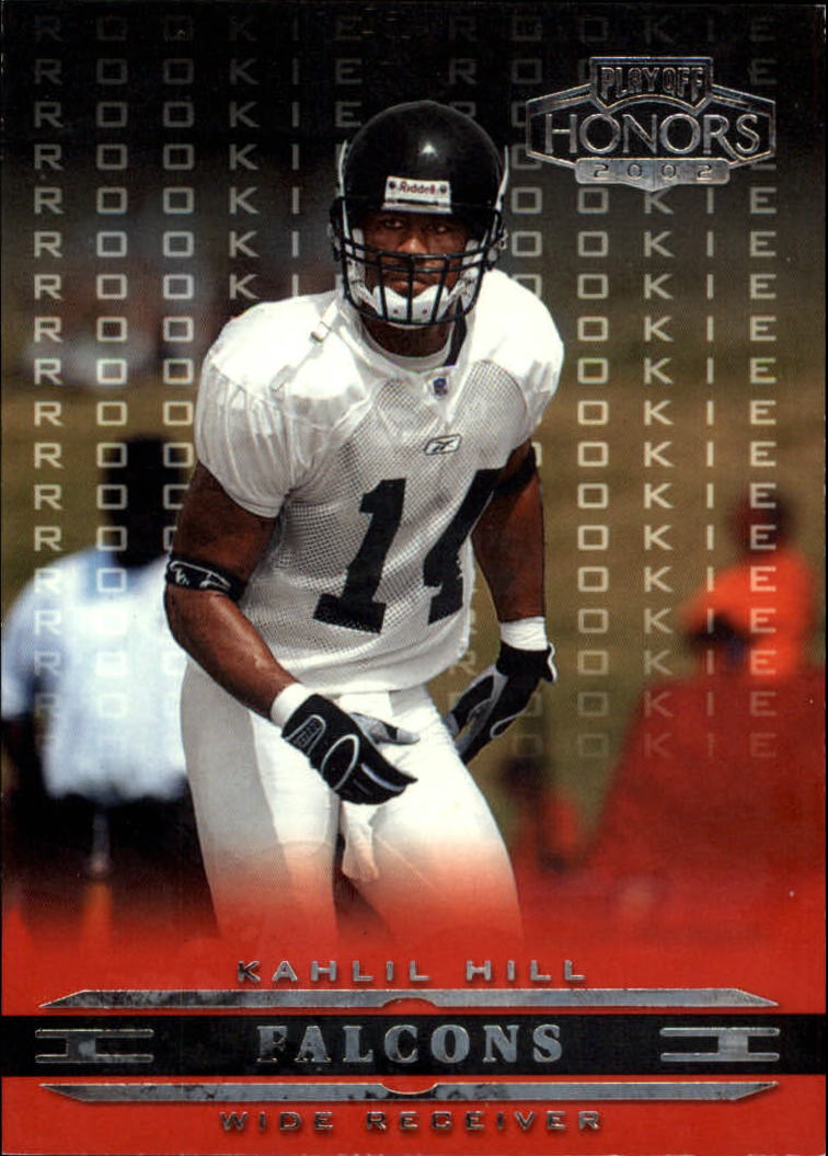 2002 Playoff Honors #144 Kahlil Hill RC