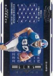 2002 Playoff Honors #226 Jeremy Shockey JSY RC