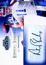 2002 Playoff Honors Honorable Signatures #HS23 Drew Bledsoe/100*