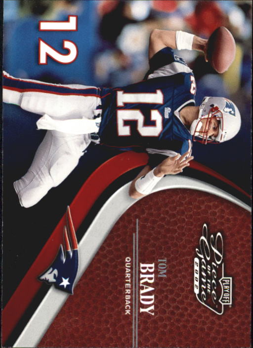 2002 Playoff Piece of the Game #15 Tom Brady