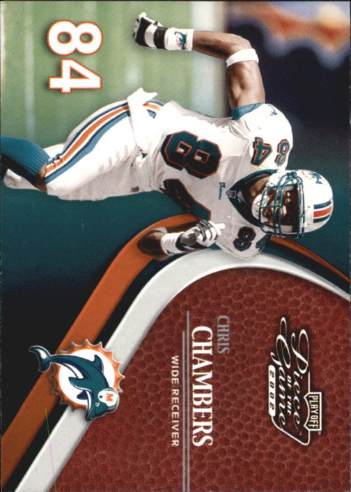 2002 Playoff Piece of the Game #63 Chris Chambers