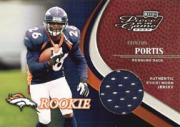 2002 Playoff Piece of the Game #111 Clinton Portis JSY RC