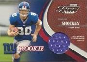 2002 Playoff Piece of the Game #127 Jeremy Shockey JSY RC