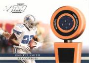 2002 Playoff Piece of the Game Materials #20F Emmitt Smith FB SP front image