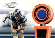 2002 Playoff Piece of the Game Materials #23J Isaac Bruce JSY