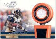 2002 Playoff Piece of the Game Materials #38J Marshall Faulk JSY