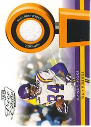 2002 Playoff Piece of the Game Materials #43J Randy Moss JSY