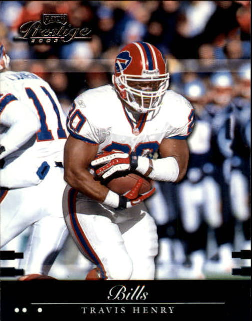 2002 Playoff Prestige #15 Travis Henry