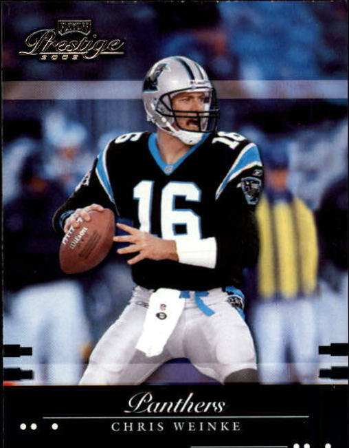 2002 Playoff Prestige #23 Chris Weinke