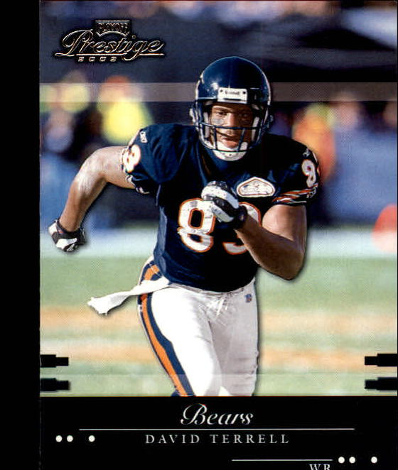 2002 Playoff Prestige #25 David Terrell
