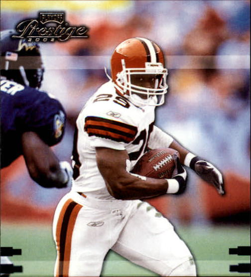2002 Playoff Prestige #35 James Jackson
