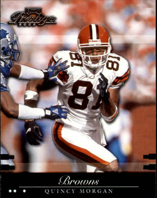2002 Playoff Prestige #36 Quincy Morgan