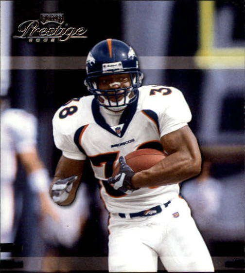 2002 Playoff Prestige #46 Mike Anderson