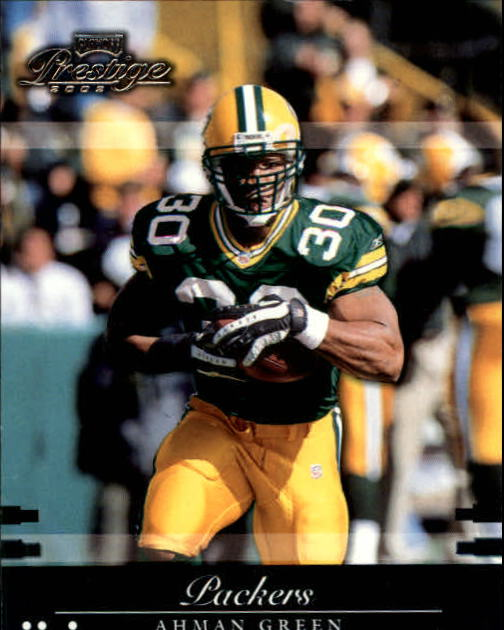 2002 Playoff Prestige #58 Ahman Green