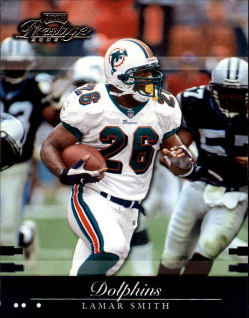 2002 Playoff Prestige #78 Lamar Smith