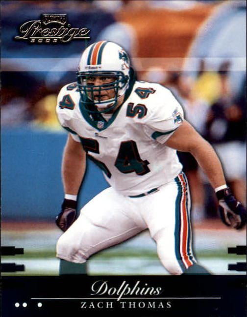2002 Playoff Prestige #79 Zach Thomas