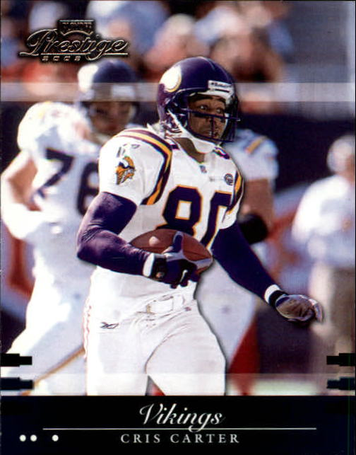 2002 Playoff Prestige #81 Cris Carter