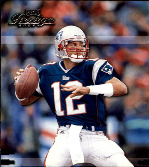 2002 Playoff Prestige #85 Tom Brady