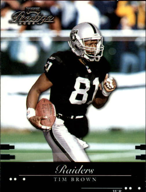 2002 Playoff Prestige #102 Tim Brown
