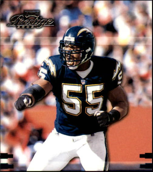 2002 Playoff Prestige #122 Junior Seau