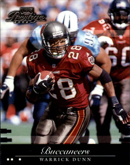 2002 Playoff Prestige #138 Warrick Dunn