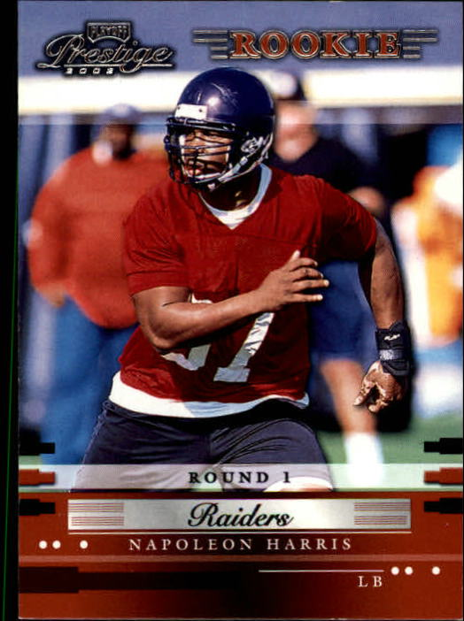 2002 Playoff Prestige #170 Napoleon Harris RC