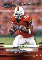 2002 Playoff Prestige #182 Clinton Portis RC