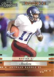 2002 Playoff Prestige #186 Antwaan Randle El RC