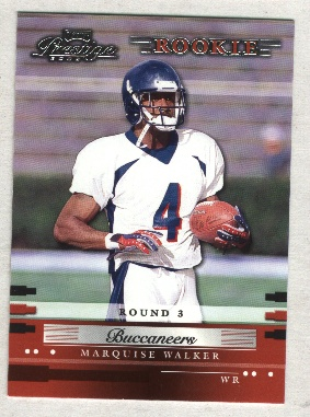 2002 Playoff Prestige #191 Marquise Walker RC