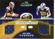 2002 Playoff Prestige Connections Jerseys #C1 Kurt Warner/Isaac Bruce