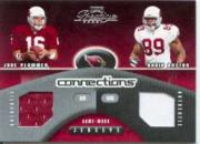 2002 Playoff Prestige Connections Jerseys #C8 Jake Plummer/David Boston