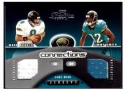 2002 Playoff Prestige Connections Jerseys #C11 Mark Brunell/Jimmy Smith