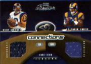 2002 Playoff Prestige Connections Jerseys #C18 Kurt Warner/Az-Zahir Hakim