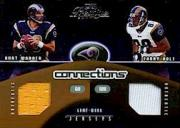 2002 Playoff Prestige Connections Jerseys #C24 Kurt Warner/Torry Holt