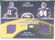 2002 Playoff Prestige Connections Jerseys #C28 Daunte Culpepper/Randy Moss