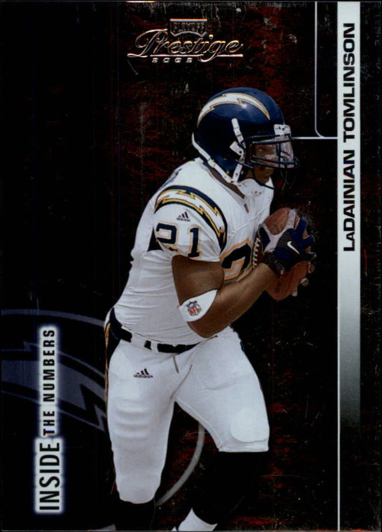2002 Playoff Prestige Inside the Numbers #IN12 LaDainian Tomlinson