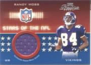 2002 Playoff Prestige Stars of the NFL Jerseys #SN10 Randy Moss