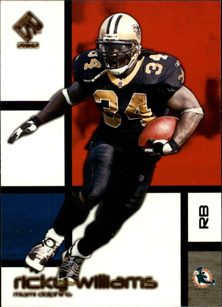 2002 Private Stock #52 Ricky Williams front image