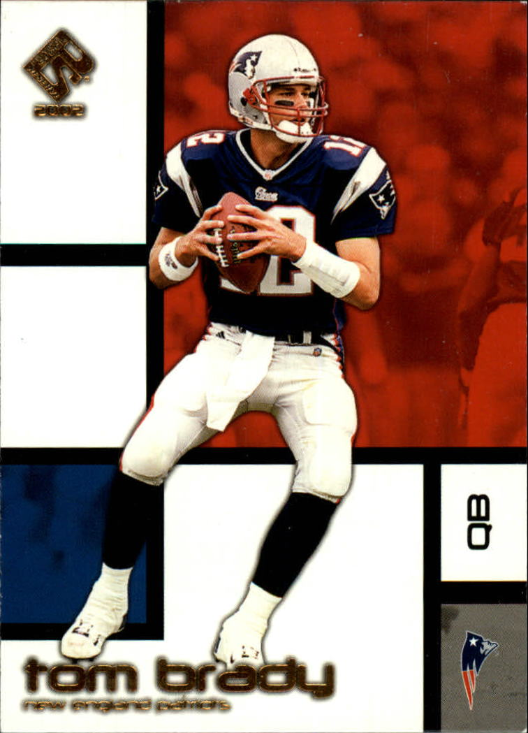 2002 Private Stock #58 Tom Brady