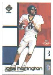 2002 Private Stock Retail #119 Joey Harrington RC