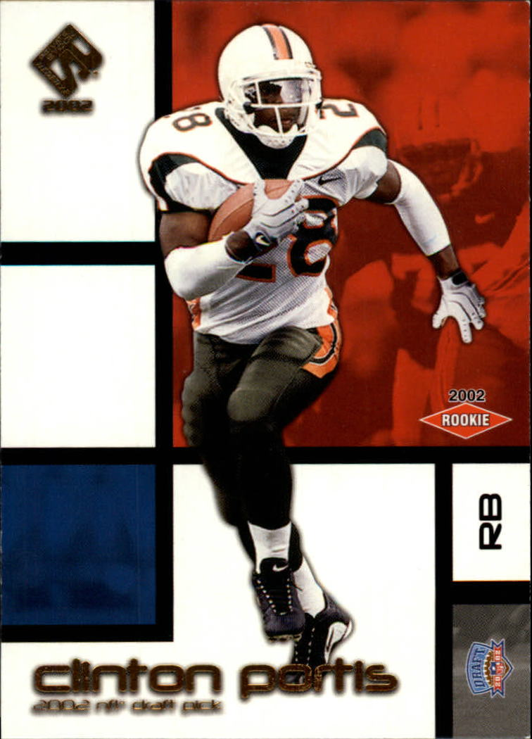 2002 Private Stock Retail #136 Clinton Portis RC
